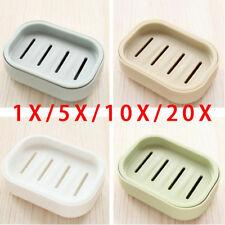 Plastic Bathroom Draining Portable Soap Dish Soap Case Soap Holder Container