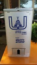 Luhr Jensen LITTLE CHIEF TOP LOAD ELECTRIC SMOKER Model 82 #9804 Vintage