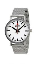 Mondaine Men's A660.30314.11sbms SBB 36mm Stainless Steel Casual Watch
