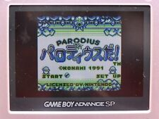 PARODIUS DA! NINTENDO GAME BOY GB, COLOR GBC, ADVANCE GBA IMPORT  JAP GIAPPONESE