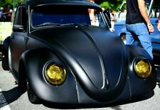 MATTE BLACK! VW Bug Exterior SUN VISOR 1952-79 Ragtop Hot Rat ROD Patina Super