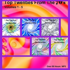 Not Pirate Radio Charts From The Seventies Volumes 1-5 Listen In Your Car