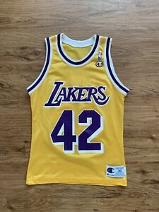 Vintage James Worthy Los Angeles Lakers Champion Jersey Size 36