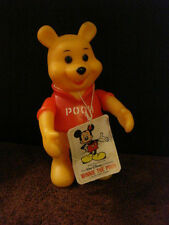 """Vintage Disney Articulated Figurine """"Winnie The Pooh""""  5 1/2"""", With Tag"""