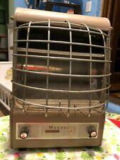Vintage 1934 Markel Neo-Glo Fan-Glo Heetaire 1500W Portable Electric Heater
