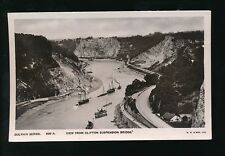 Gloucestershire CLIFTON Steamships & river scene from Bridge pre1919 RP PPC