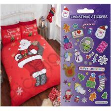un plus dormir housse couette simple + GRATUIT Petit Feuille autocollant Noël