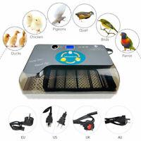 12 Eggs Digital Automatic Incubator Hatcher Chicken Duck Quail Turning Machine