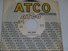 """CASEY ANDERSON Old Jay Gould/ Easy Rider 7"""" 45 Atco 45-6257 PROMO Blues"""