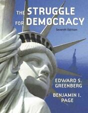 Struggle for Democracy (paperbound), The (7th Edition) Greenberg