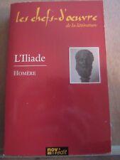 Homère: L'Iliade/ Les Chefs-d'Oeuvre de la Littérature, Nov'Edit, 2005
