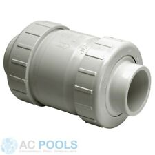 "Spears Swing Check Valve 15mm (½"") PVC - True Union Type - S1720-05"