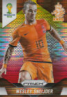 Panini PRIZM FIFA World Cup 2014 WESLEY SNEIJDER Nederland Yello Red Pulsar