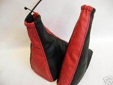 FITS FIAT SEICENTO CINQUECENTO SPORTING GAITERS RED BLACK