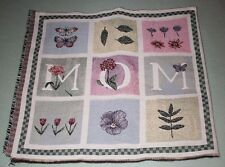 "MOM tapestry Fabric, for a tote or pillow for MOM, 16 1/2"" x 17 1/2"" Tapestry"