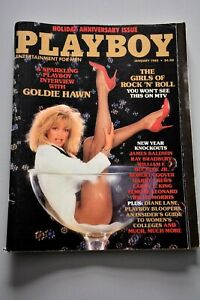 Playboy January 1985 - Goldie Hawn Cover