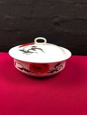 Wedgwood Susie Cooper Corn Poppy Lidded Vegetable Tureen 3 Available