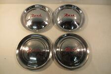 """1951 1952 1953 1954 1955 AMC Nash Rambler Wheel Covers Hub Caps 15"""" Hubcaps Trim"""