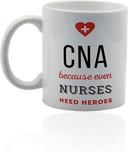 Cna Certified Nursing Assistant Mug Funny Ceramic Coffee Mug Gift For Men Women