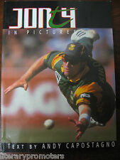 JONTY RHODES HAND SIGNED AUTOGRAPHED IN PICTURES Andy Capostagno Cricket Africa