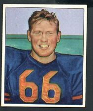 1950 Bowman Football Card #28 Bulldog Turner-Chicago Bears