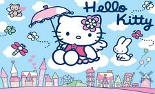 Hello Kitty Iron On Transfer For T-Shirt & Other Light Color Fabrics #2