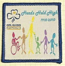 Girl Guides Australia: Centenary of Guiding Badge: Heads Held High (1910-2010)