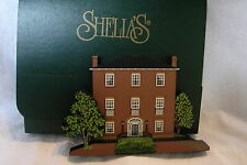 Shelia's 1998 Collectible Victorian Home Decatur House Washington Dc w/ Box