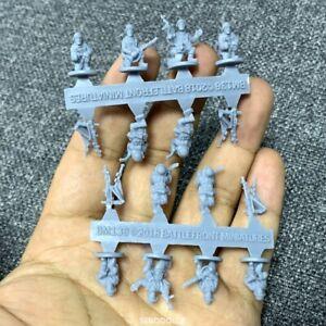 Lot 16 Caesar Miniatures 1/72 136 US Counter-Terrorist Elite Forces Figures #K9