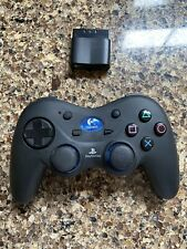 PS1 PS2 Logitech Wireless Controller with Receiver Dongle