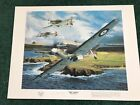 Aviation Art Print British Hawker Hurricane Eagle Squadron Battle of Britain