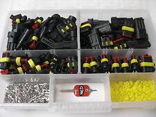 100 x  AMP Superseal Stecker BIG PACK 2+3-polig + Ausdrückwerkzeug