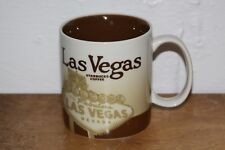 EUC Starbucks City Mug Las Vegas Brown
