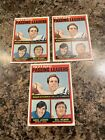 1972 Topps Roger Staubach lot of 3qty.