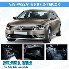 13x VW Passat B6 B7 Xenon White Interior Upgrade Kit LED Light Bulbs Set