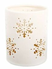 Ceramic Christmas Candle & Tea Light Holders