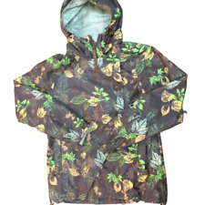 Grenade Fatigue Project Standard Issue Camo Hooded Snowboard Jacket, Size Medium
