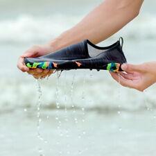 Вода туфли, женские, мужские босиком аква носки быстросохнущая пляжный купальник спорт упражнение