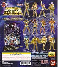 SAINT SEIYA Bandai 2005 Gashapon Figures Gold Saint Myth Cloth HGIF SP Set of 12