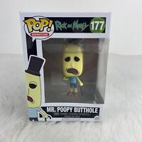 Funko Pop! Animation: Rick and Morty - Mr Poopy Butthole #177 - Vinyl Figure