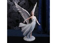 More details for ascendance by anne stokes - angel figurine -hand painted-impressive.