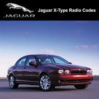 Radio Code For Jaguar X-Type Decode Security Unlock Codes Decode Unlock   UK