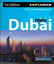 Dubai Mini Visitor's Guide Book, UAE, with maps, Paperback