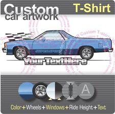 Custom T-shirt 1978 79 80 1981 Chevy Chevrolet El camino Classic 350 Super Sport