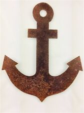 Nautical 2D Rust Anchor Seaside Themed Home Decor Bathroom Summerhouse