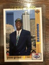 Dikembe Mutombo UD 1991-92 ROOKIE CARD