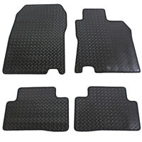 For Nissan Qashqai MK2 2014+ Fully Tailored 4 Piece Rubber Car Mat Set