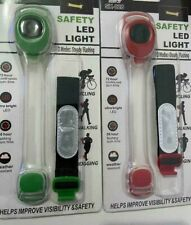 Torch Light LED Clip On Hands Free Flashlight Clothes Cycling Running