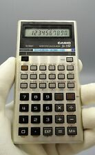 Antigua calculadora Casio Fx-550 scientific calculator,  funcionando, año 1981