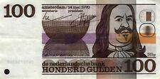 05 Netherlands / Niederlande P93 100 Gulden 1970  De Ruyter